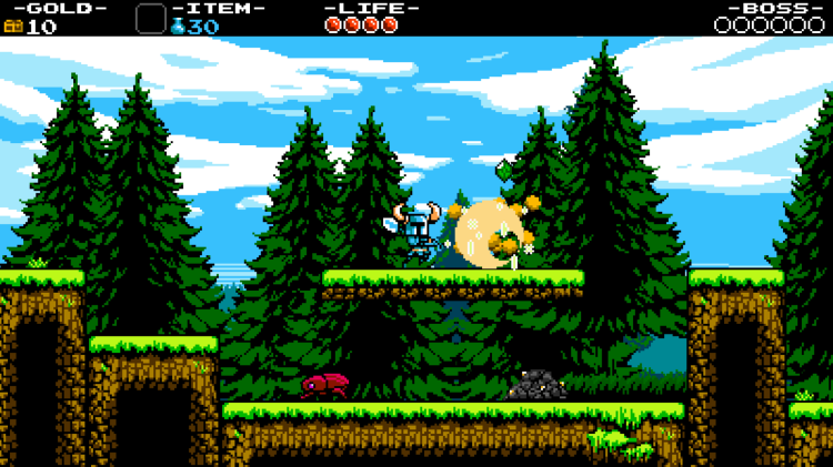 Familiar and welcomed, Shovel Knight plays like one of your favourite NES titles