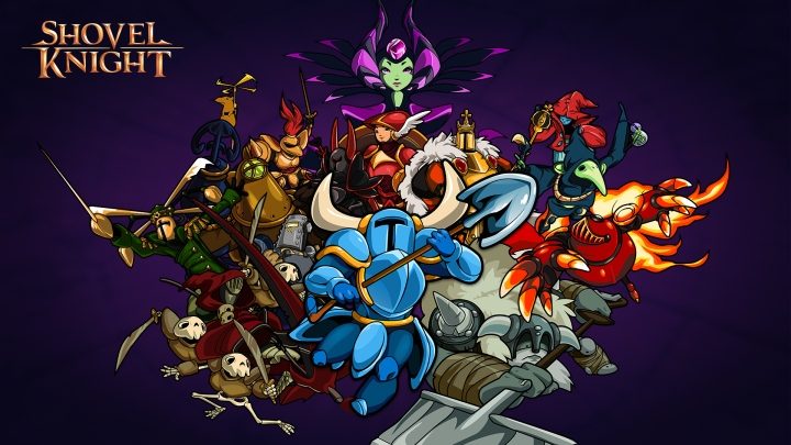 Shovel Knight, the Enchantress, and the Order of No Quarter