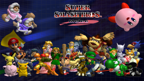 Undeniably the best Smash Bros game