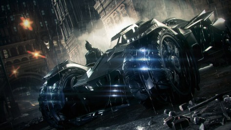 The infamous and controversial Batmobile