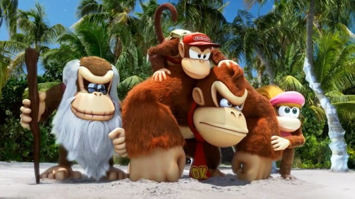 Donkey Kong and friends in their best adventure yet