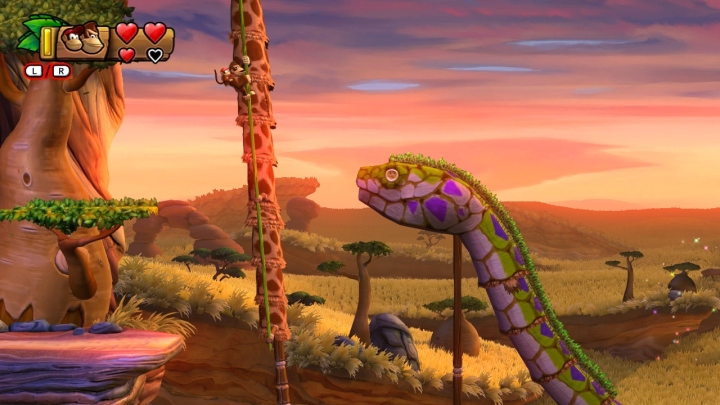 The Bright Savannah is one of many different gorgeous worlds oozing with vibrant charm
