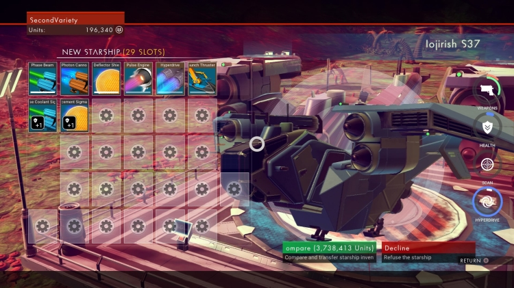 Lack of ship customization is an unfortunate oversight