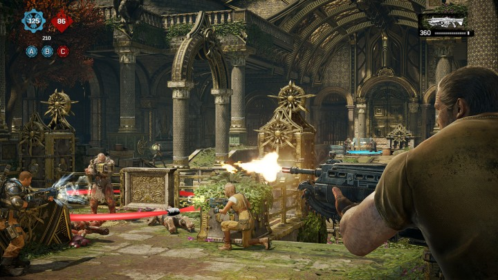 Aside from certain balancing issues, Gears of War 4's multiplayer is an absolute highpoint. Dodgeball and Arms Race are particularly awesome.